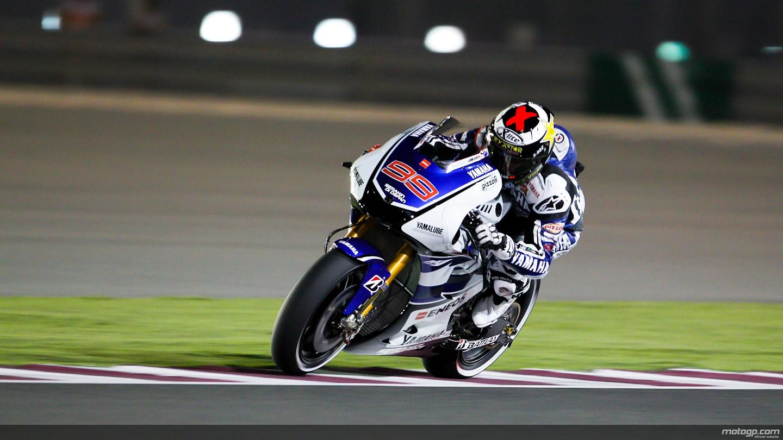 Jorge Lorenzo 99 Race Night MotoGP HD Wallpaper Widescreen 1440x810