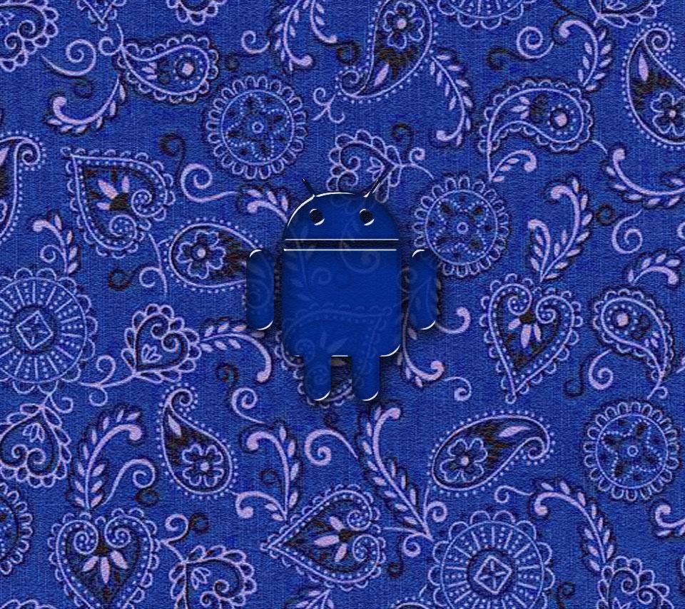 Bandana Wallpaper Droid blue bandana 960x854