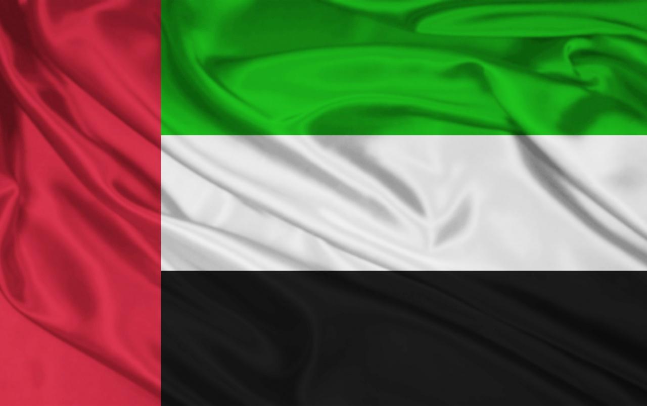 United Arab Emirates Flag wallpapers United Arab Emirates Flag 1280x804