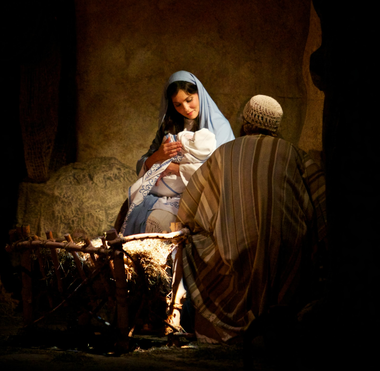 LDS Christmas Wallpaper