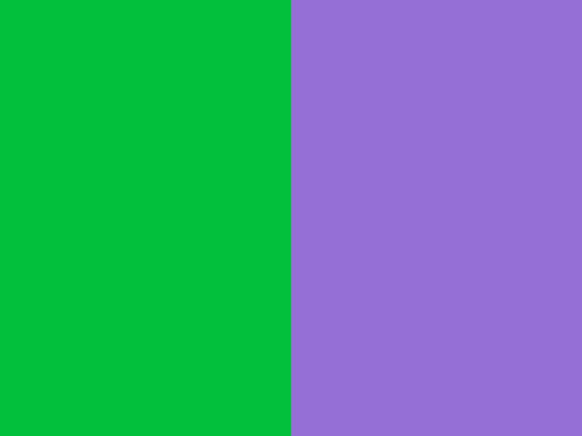 Dark Pastel Green and Dark Pastel Purple solid two color background 1152x864