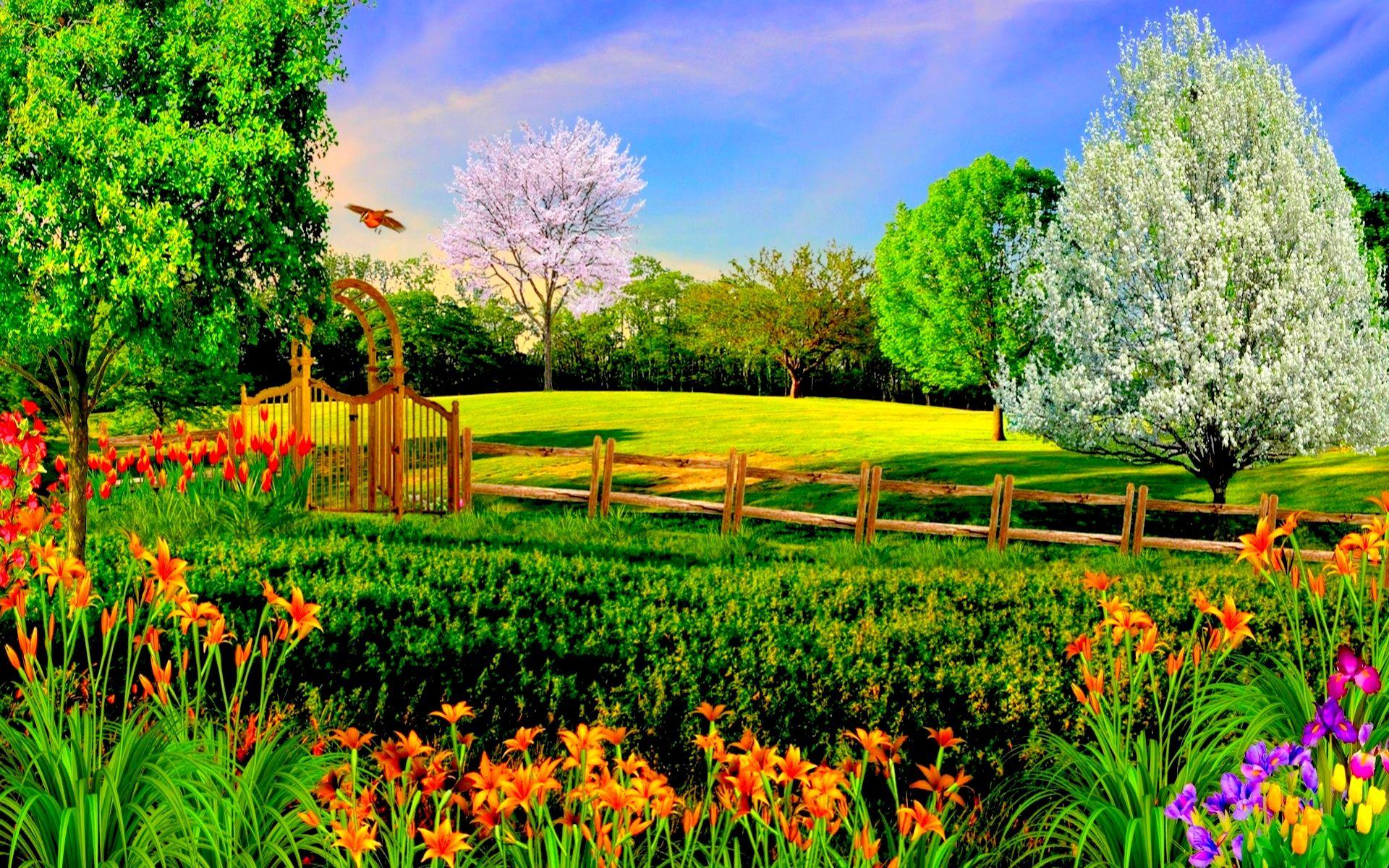 Summer Nature Backgrounds Hd Desktop 10 HD Wallpapers 1920x1200