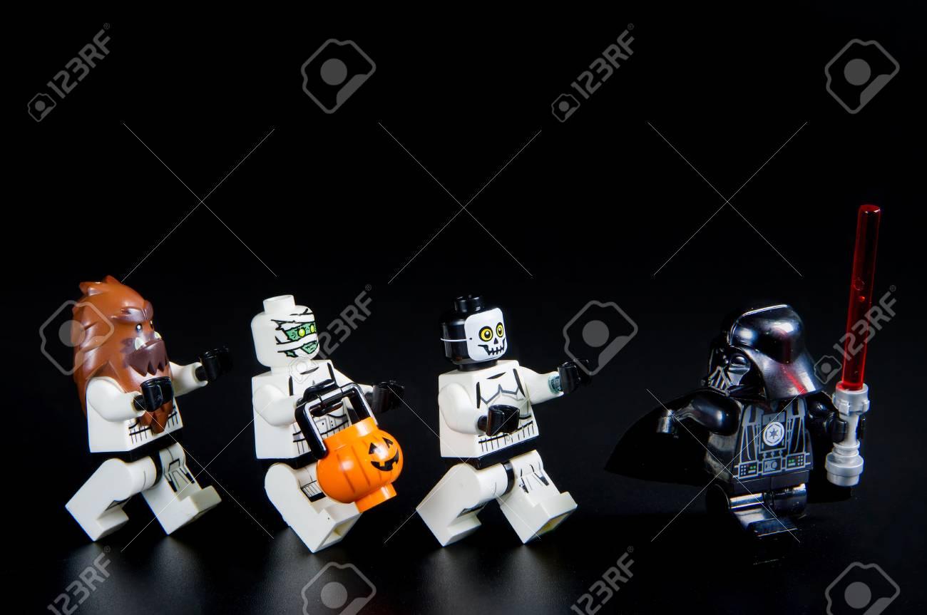 Nonthabure Thailand   August 23 2016 Lego Star Wars Darth 1300x863