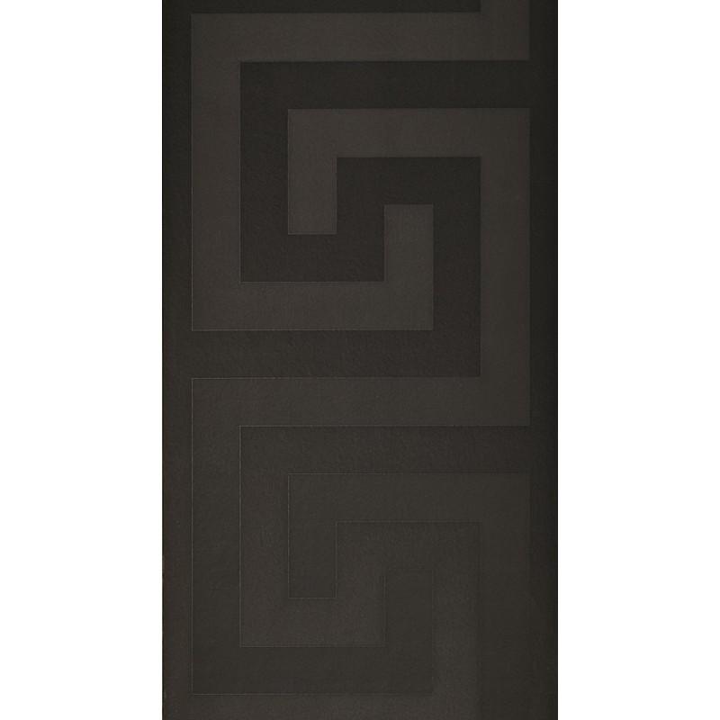 Versace Home Greek Key Black Luxury 70CM Wallpaper by AS Creation 800x800
