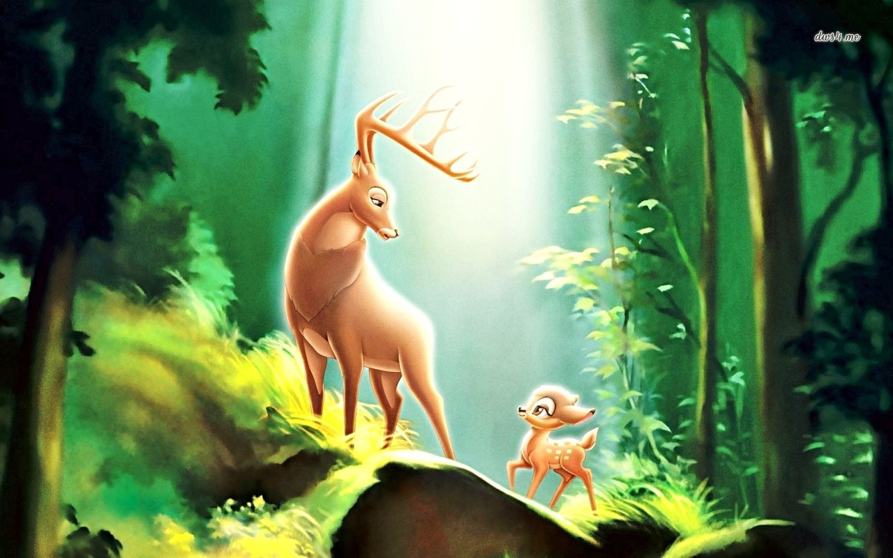 Bambi wallpaper   Cartoon wallpapers   14267 1280x800