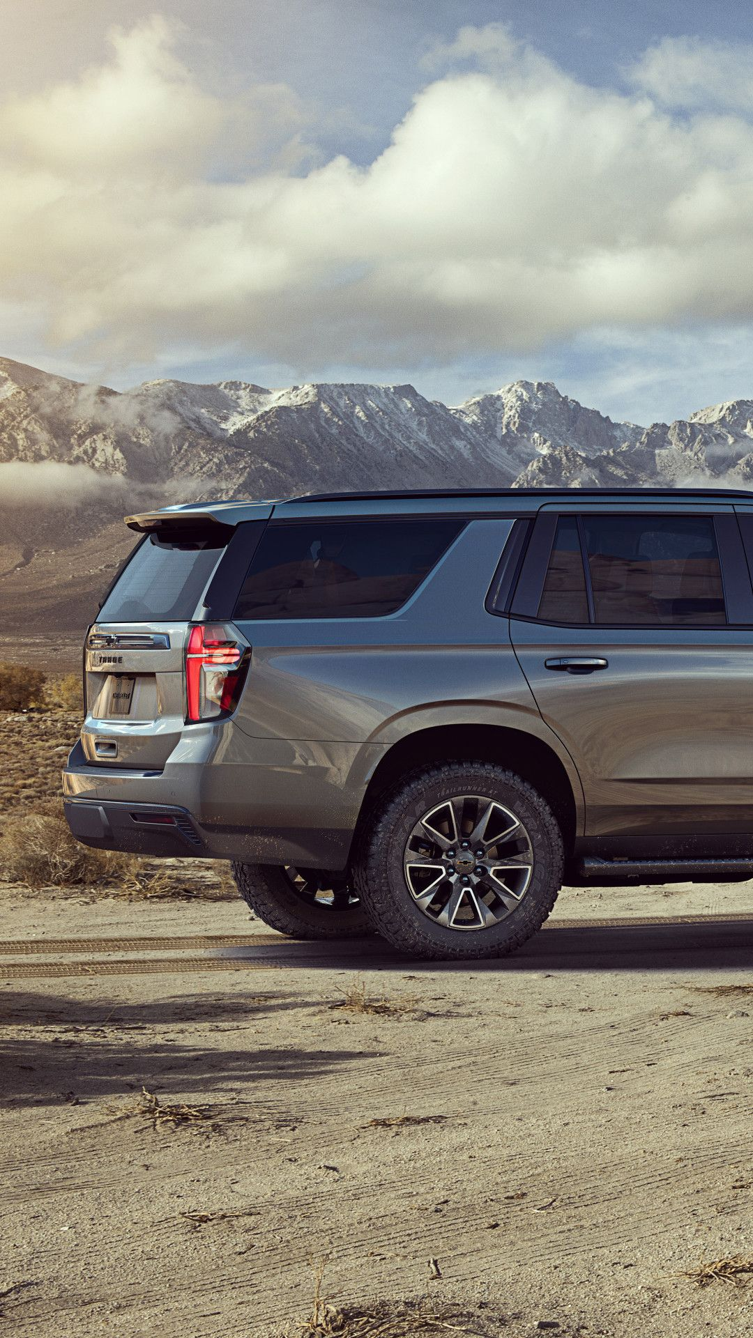 2021 Chevrolet Tahoe Z71 5k Mobile Wallpaper iPhone Android 1080x1920