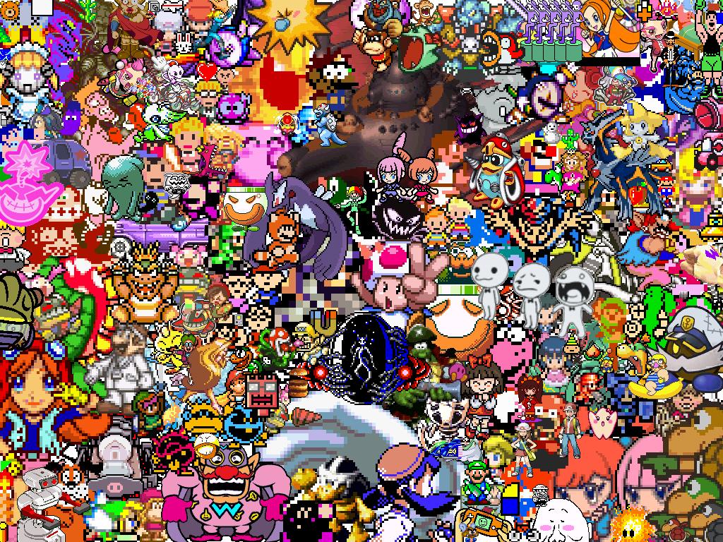 super nintendo wallpaperWallpapers Nintendo Character By Toon Orochi 1024x768