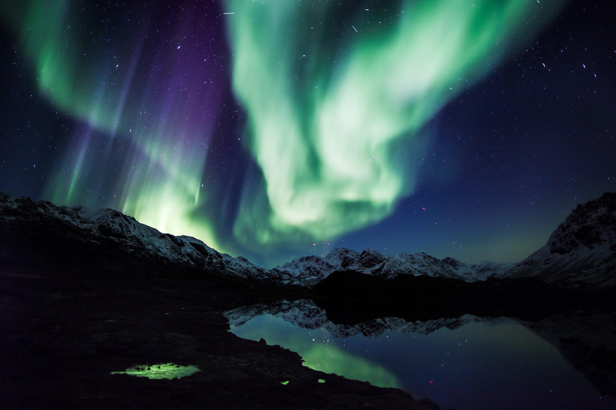 alaska night wallpaper - photo #35