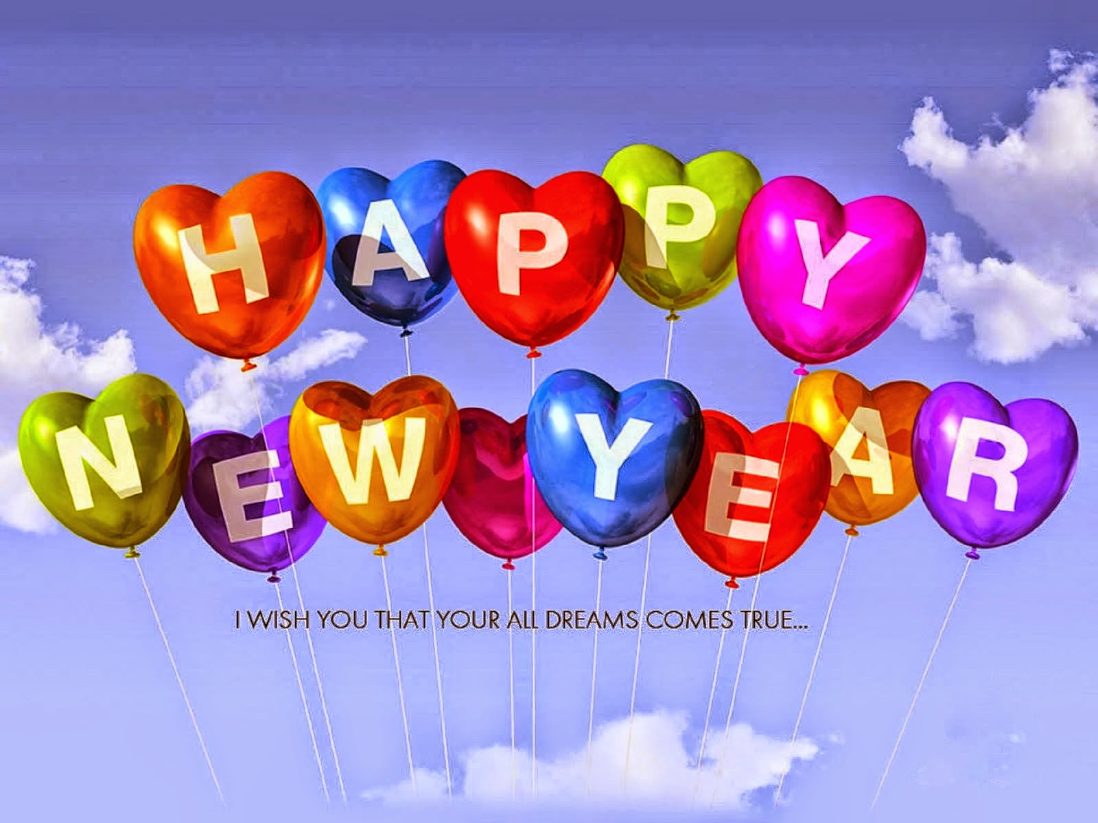 Happy New Year 2016 HD Wallpapers Wishes Quotes Cards Messages 1600x1200