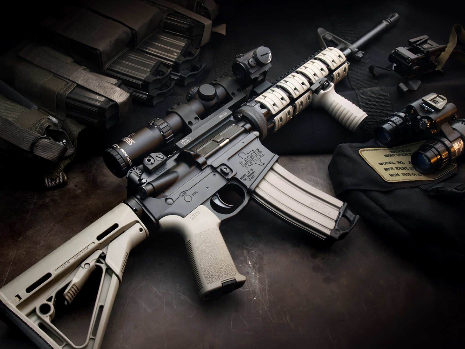 Download M4A1 Scope Wallpaper Wallpapers 1600x1200