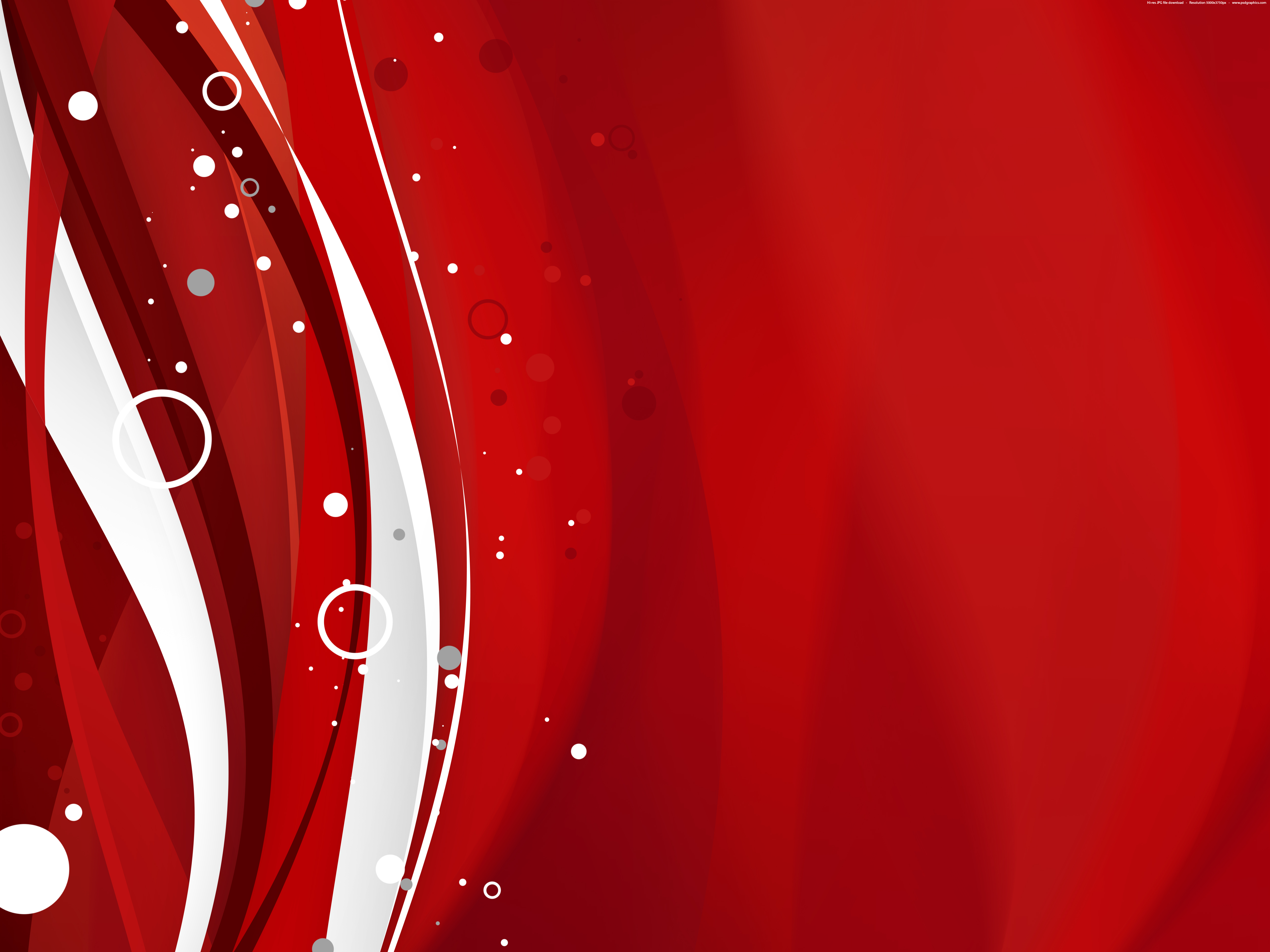 Red Christmas background PSDGraphics 5000x3750