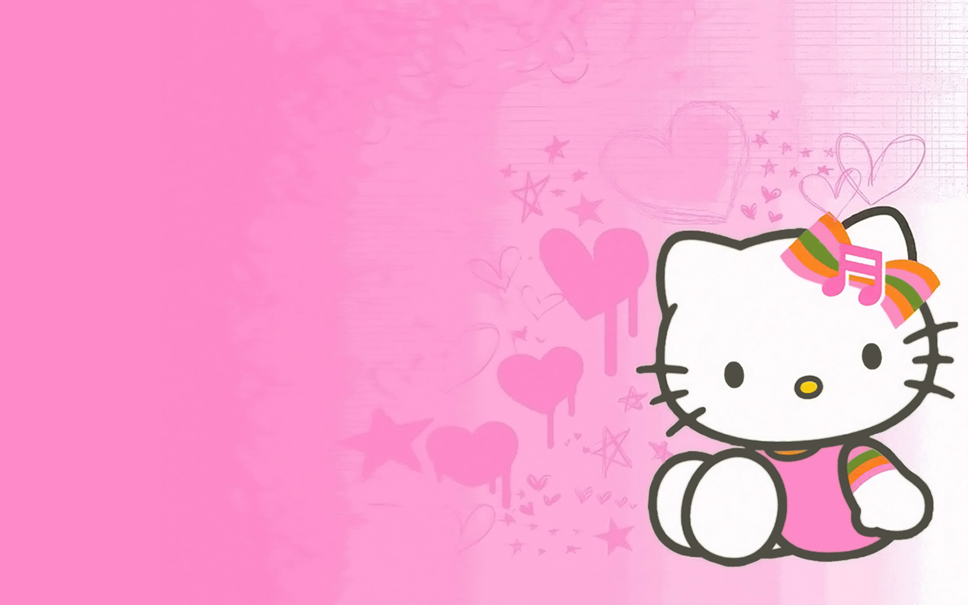 hello kitty screen savers pixels widescreen valentine sanrio 1920x1200