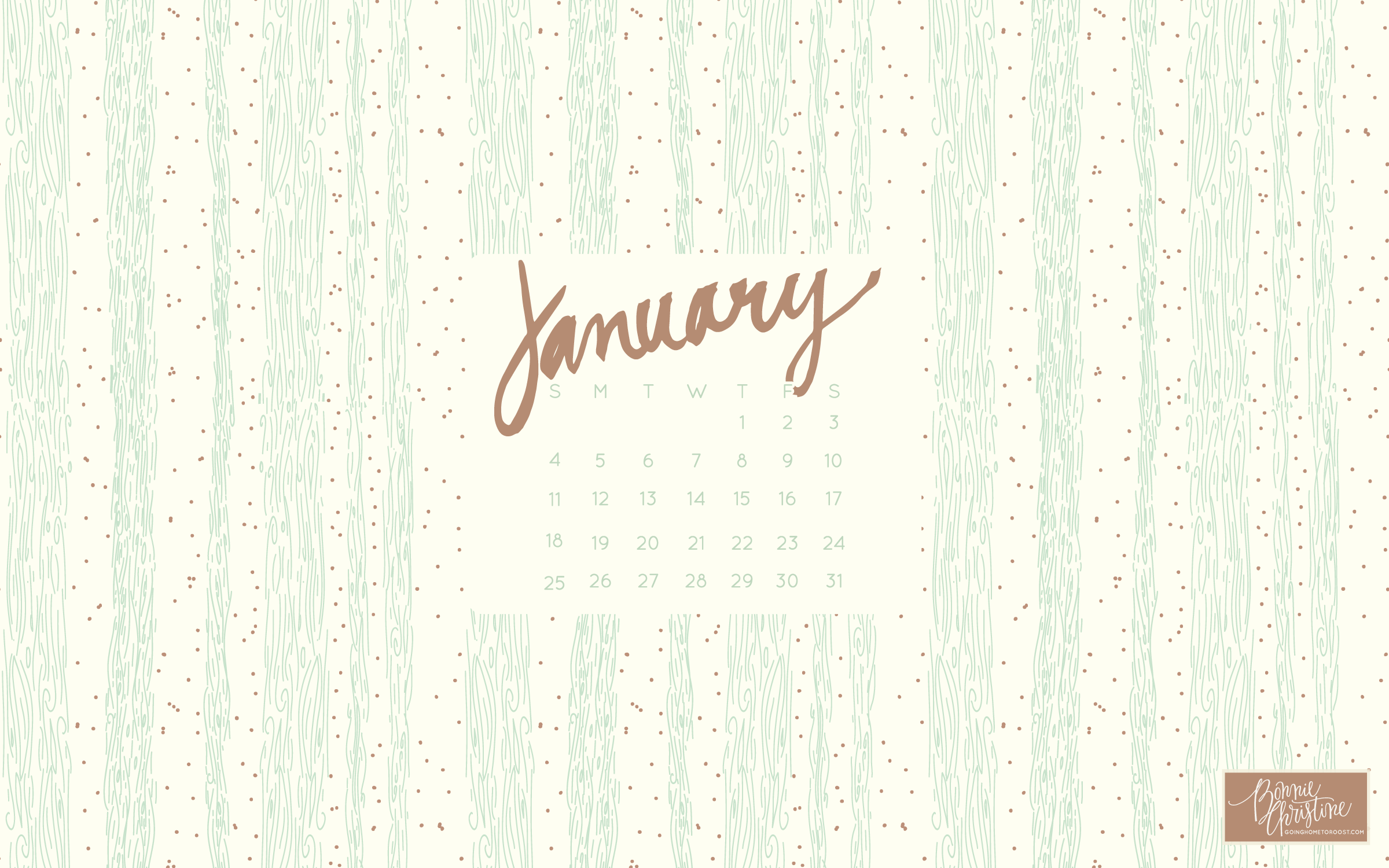 january desktop smartphone backgrounds going home to roost 2400x1500