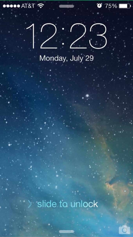 Tweaked Lock Screen UI No More Confusing Up Arrow iPhone Developers 680x1214