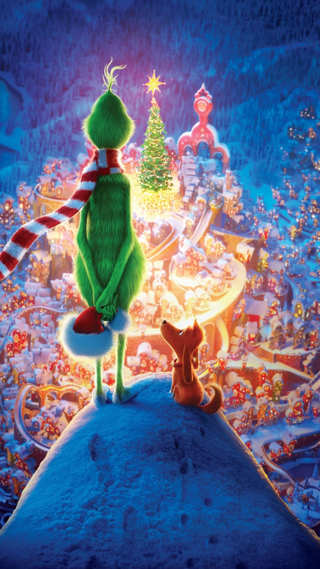 The Grinch 2018 movie Christmas 1080x1920 wallpaper in 2019 1080x1920