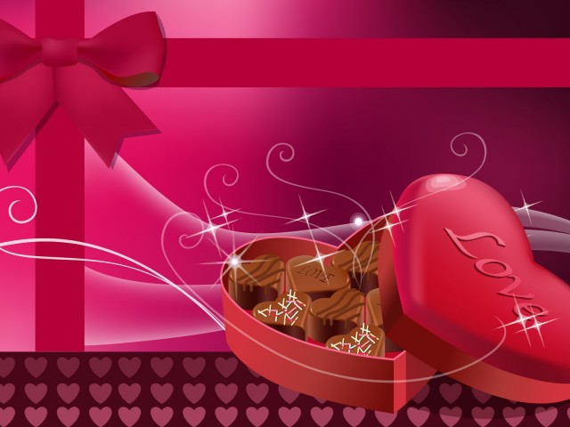 Valentine Chocolate Wallpapers Valentines Day 640x480