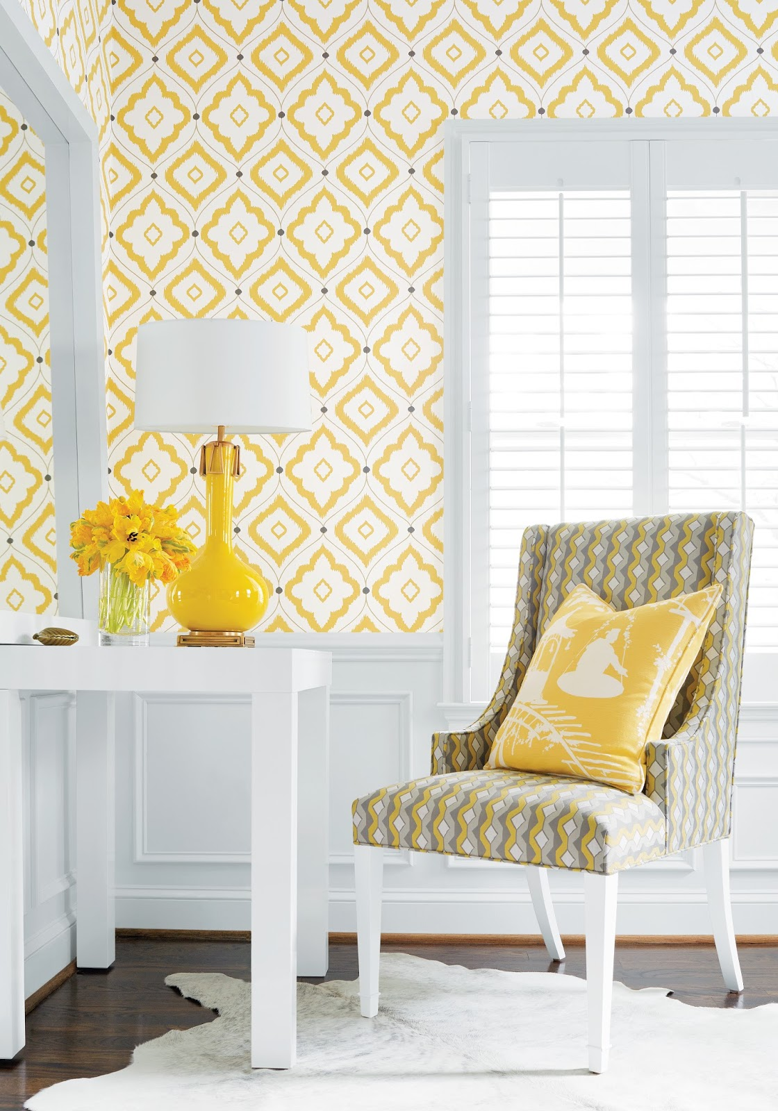 Coordinating Wallpaper and Fabric 1120x1600