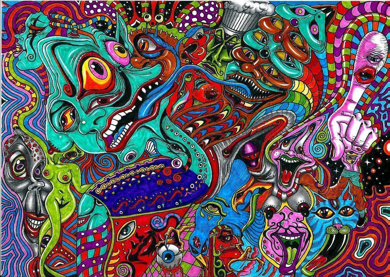 Acid Trip Wallpapers 1280x911