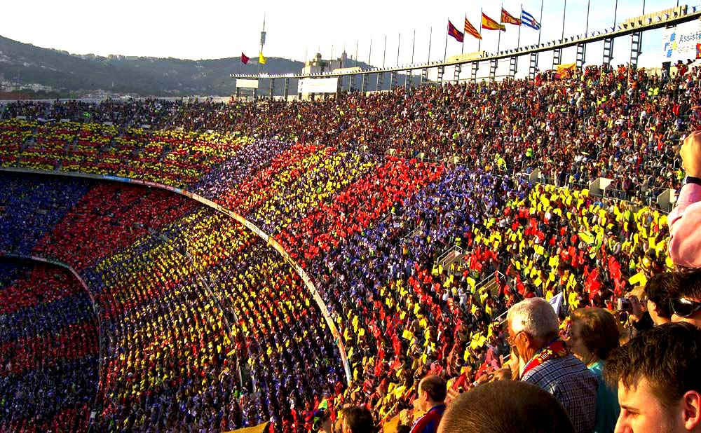 Camp Nou Stadium fc Barcelona Wallpaper Hd   Wide Wallpapers 1000x618