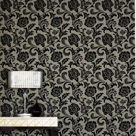 flocked wallpaper   Quotekocom 550x550