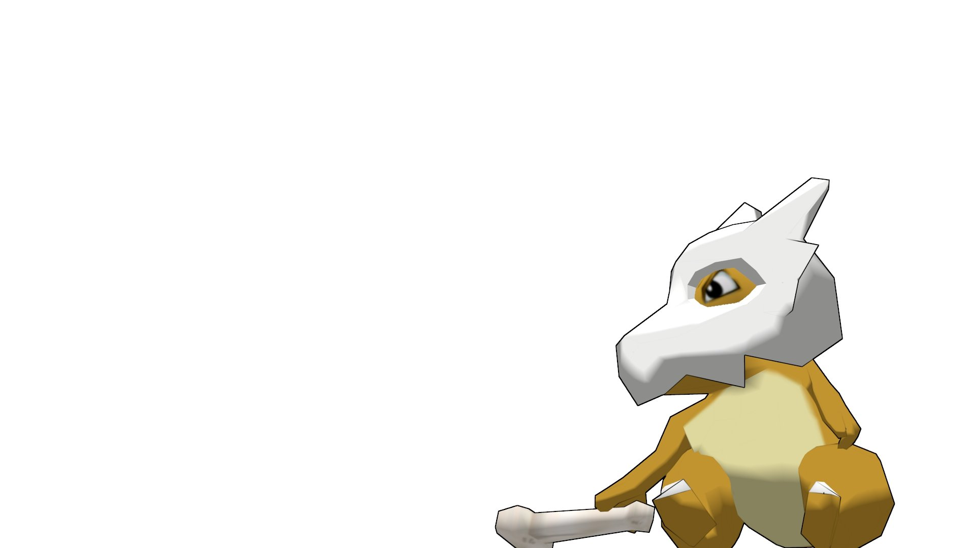 Cubone Wallpaper 1920x1080