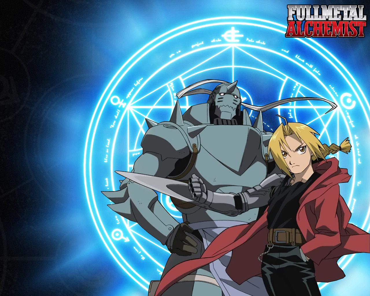 Fullmetal Alchemist um manga da autoria de Hiromu Arakawa que foi 1280x1024