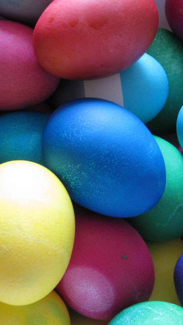 Happy Easter 2013   Download Easter Eggs iPhone 5 HD 640x1136