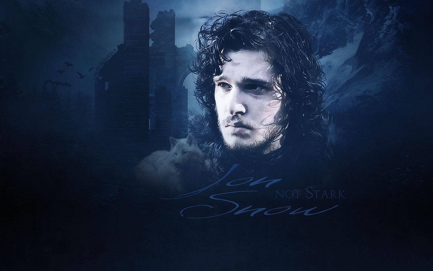 Jon Snow   Game of Thrones Wallpaper 28361370 1400x875
