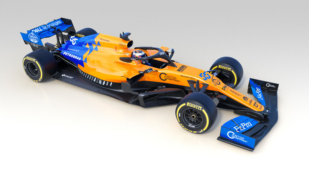 McLaren reveals MCL34 2019 Formula 1 car Motor Sport Magazine 1000x563