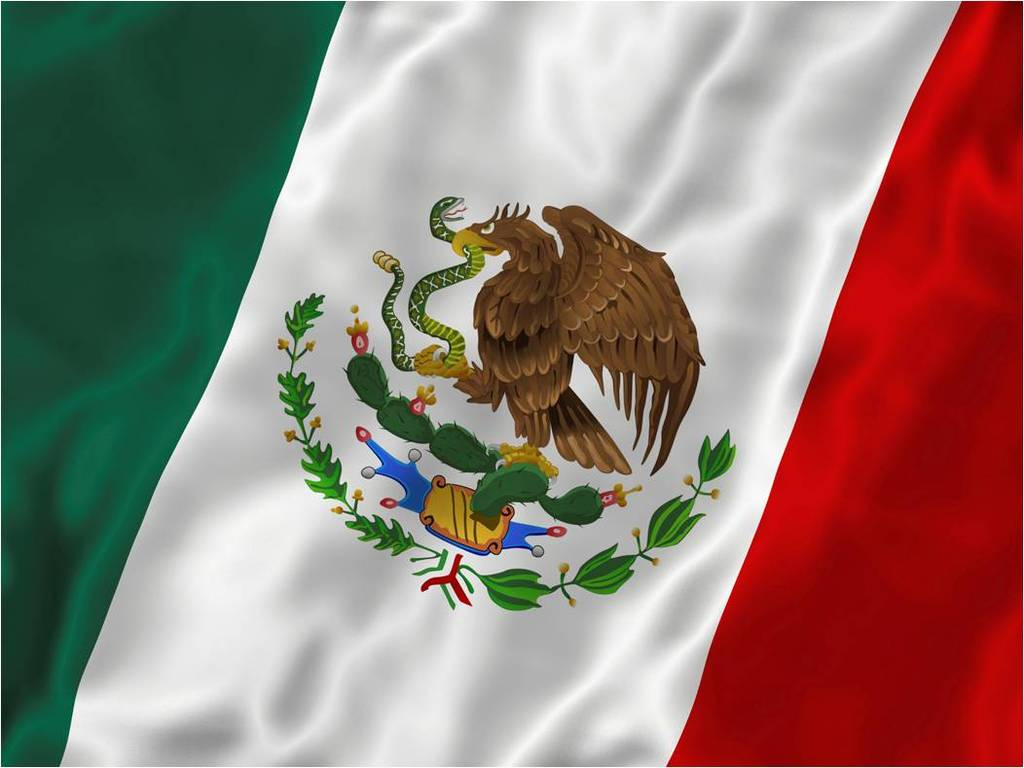 Download Mexico wallpaper flag mexico 1024x768