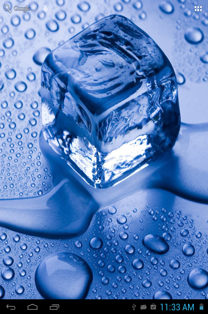 iOS7 Ice Cubes Live Wallpaper Android Apps Games on Brothersoft 680x1024