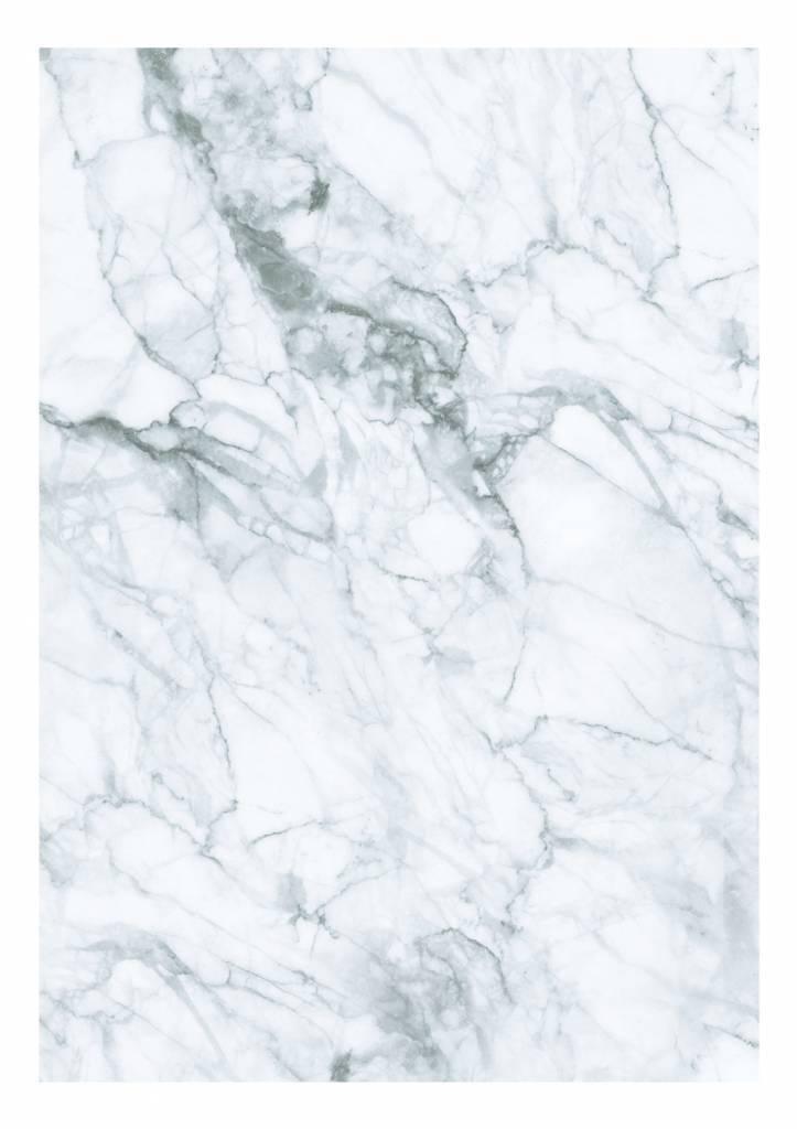 Wall Mural Marble White Grey 1948 x 280 cm   KEK Amsterdam 723x1024