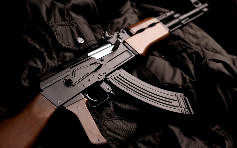 KALASHNIKOV AK 47 weapon gun military rifle y wallpaper 2880x1800
