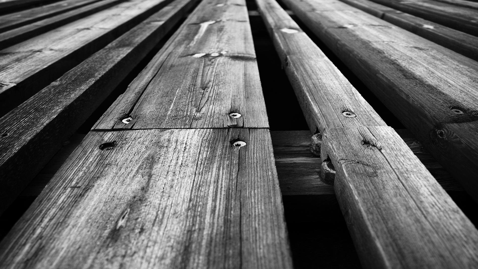 wooden floor black and white high definition desktop wallpaper 1920x1080