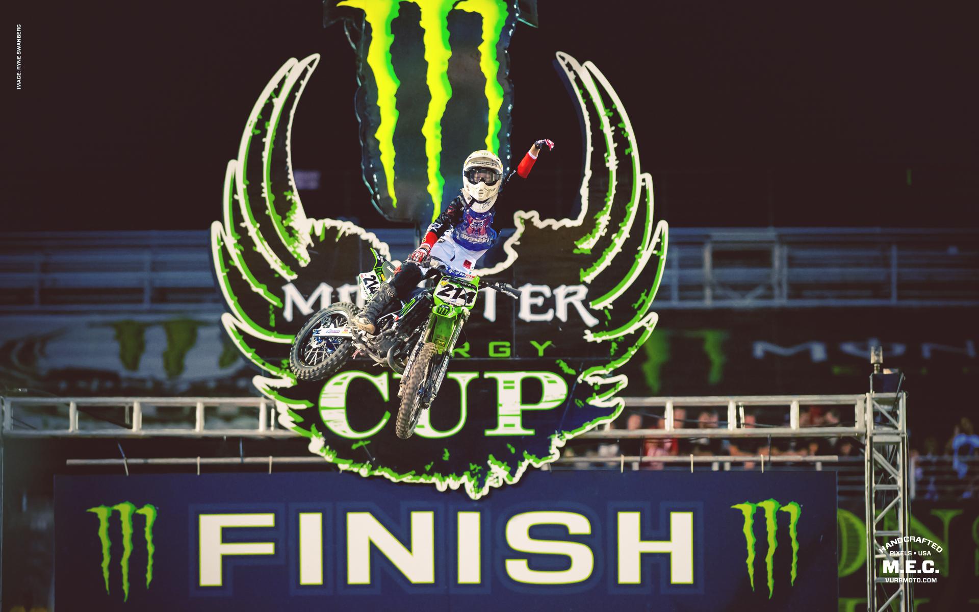 Wallpaper 2012 Monster Energy Cup Vurbmoto 1920x1200