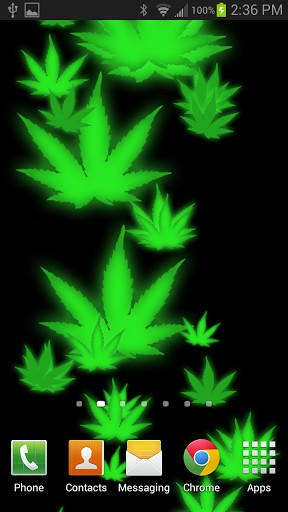 View bigger 3D Weed HD Live Wallpaper for Android screenshot 288x512