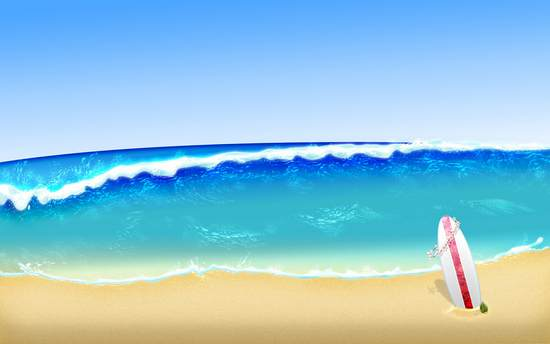 Beach Theme With Incredible Beach Wallpapers For Your PC 550x344
