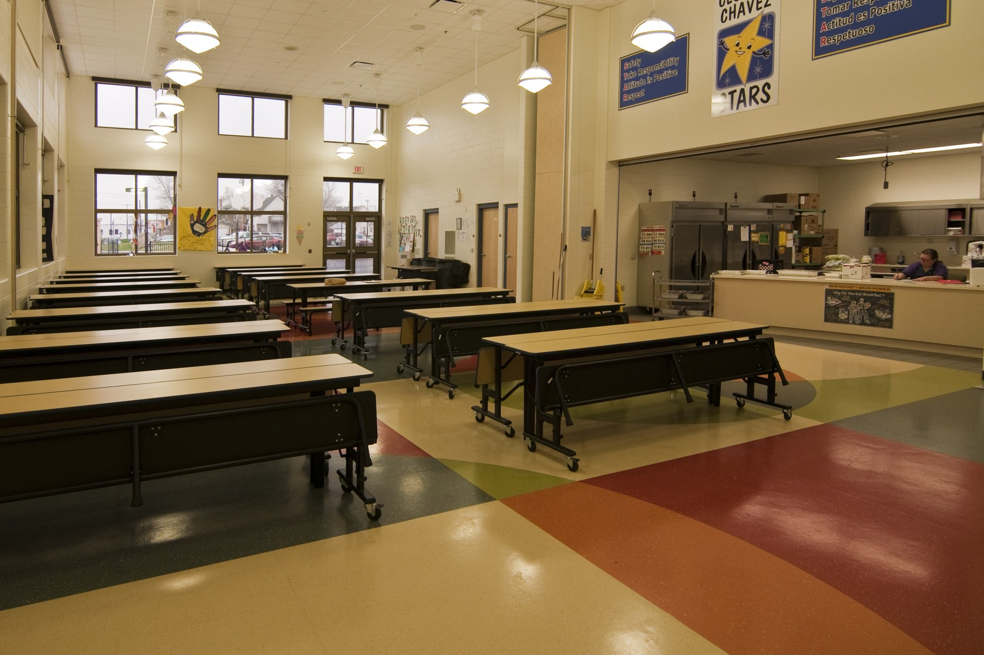 Cesar E Chavez Elementary School Cafeteria Furniture City History 2000x1332