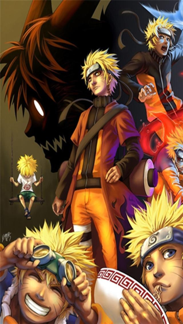 Naruto 9 HD iPhone Wallpapers iPhone 5s4s3G Wallpapers 640x1136
