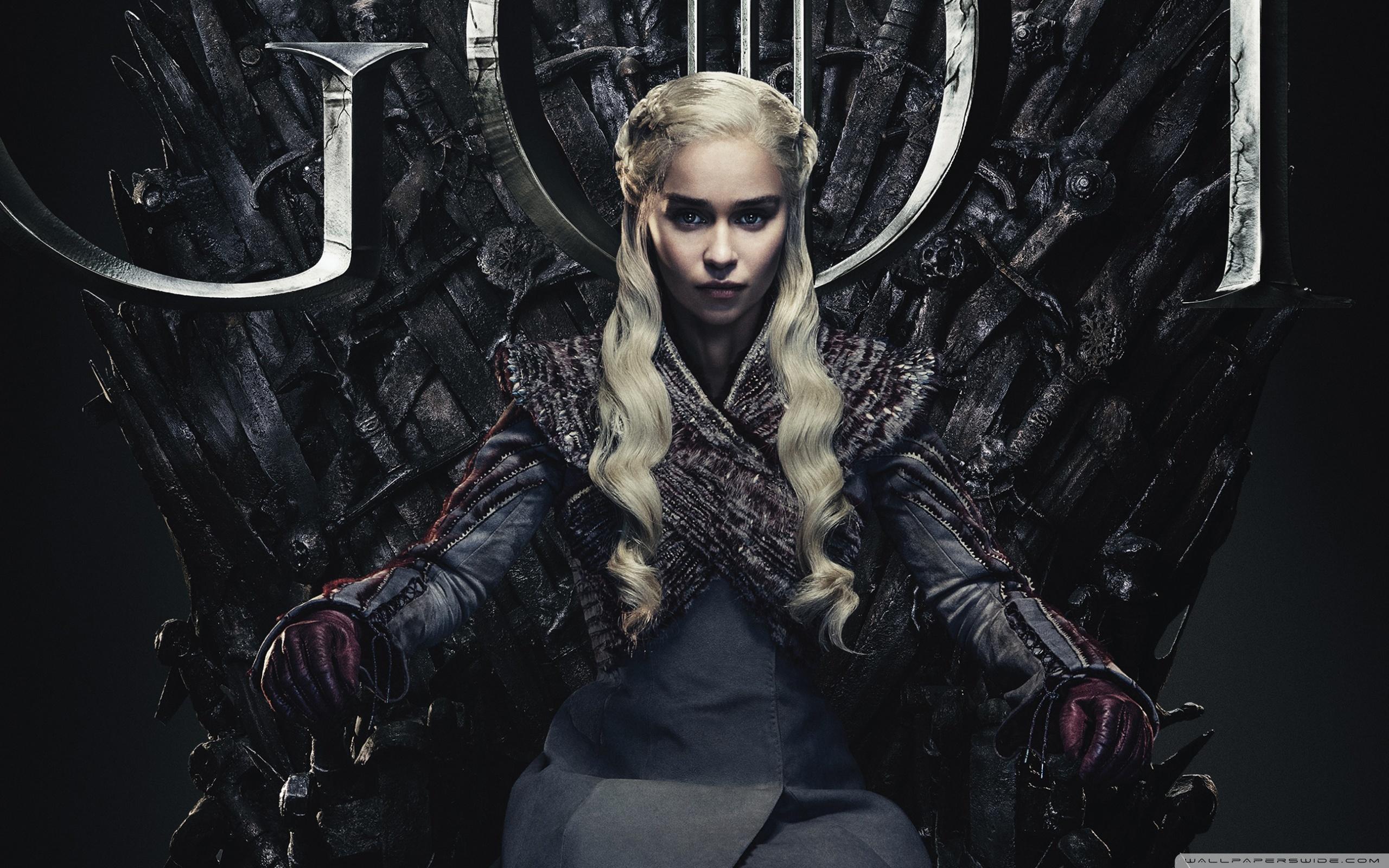 Daenerys Targaryen   Game of Thrones 4K HD Desktop Wallpaper 2560x1600