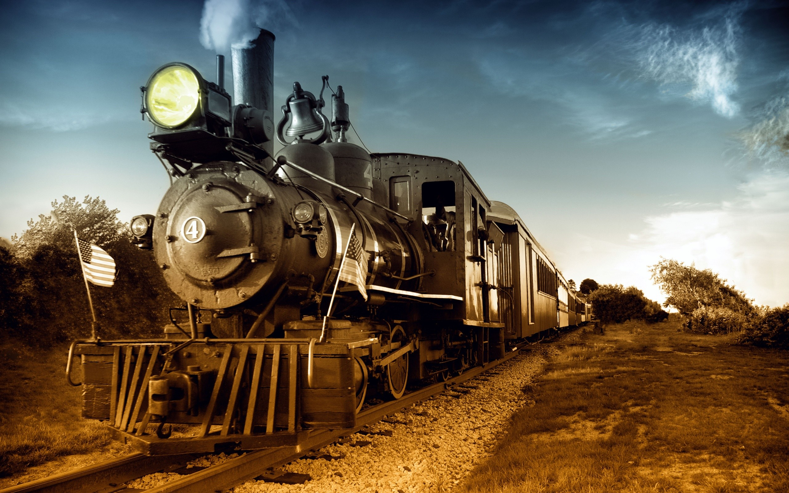 64 Steam Train Wallpapers on WallpaperPlay 2560x1600