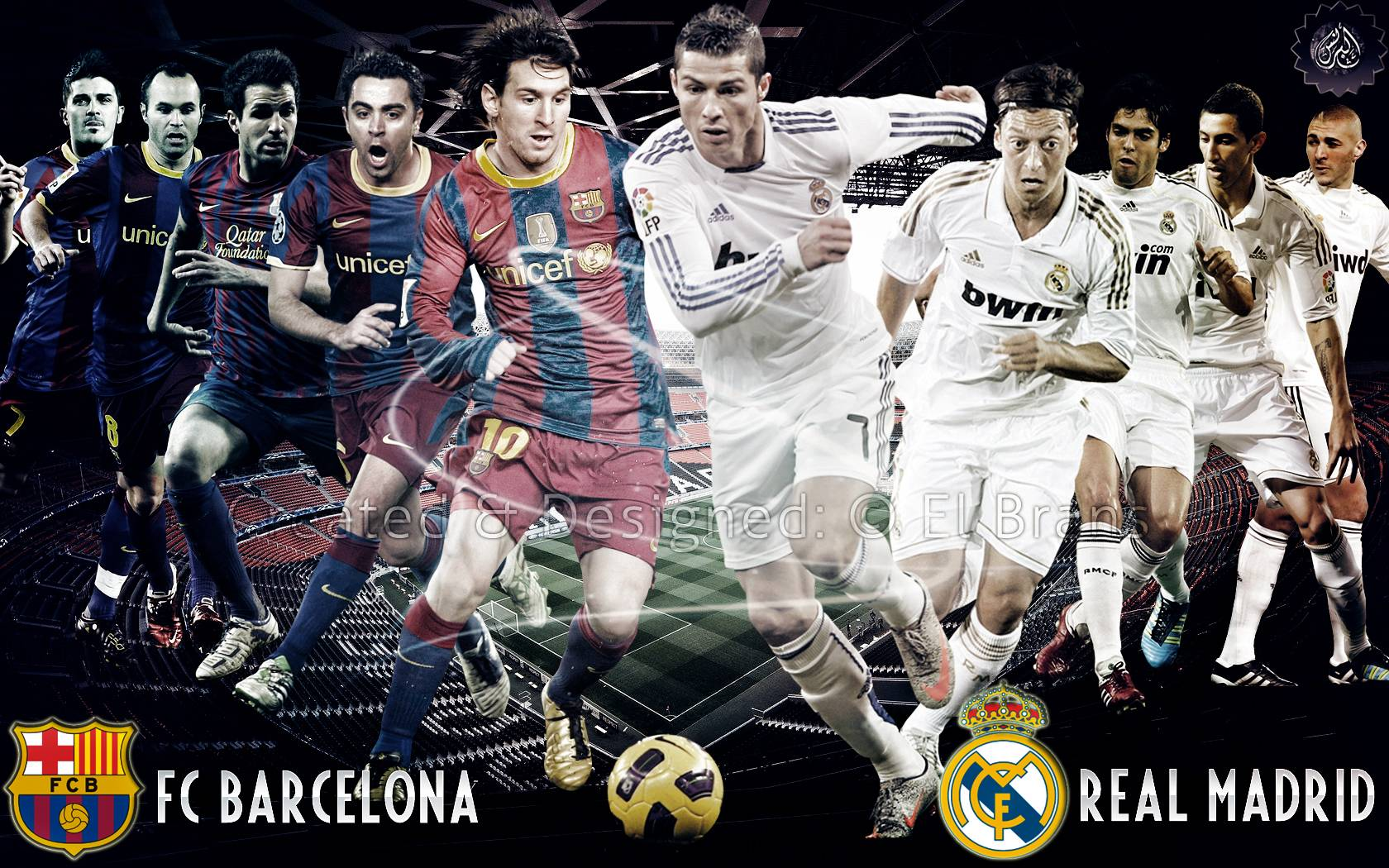 Real Madrid Vs Barcelona Wallpapers 1680x1050