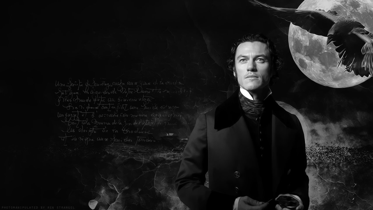 Fields Raven movie star Luke Evans by RenStrangel on 1280x720