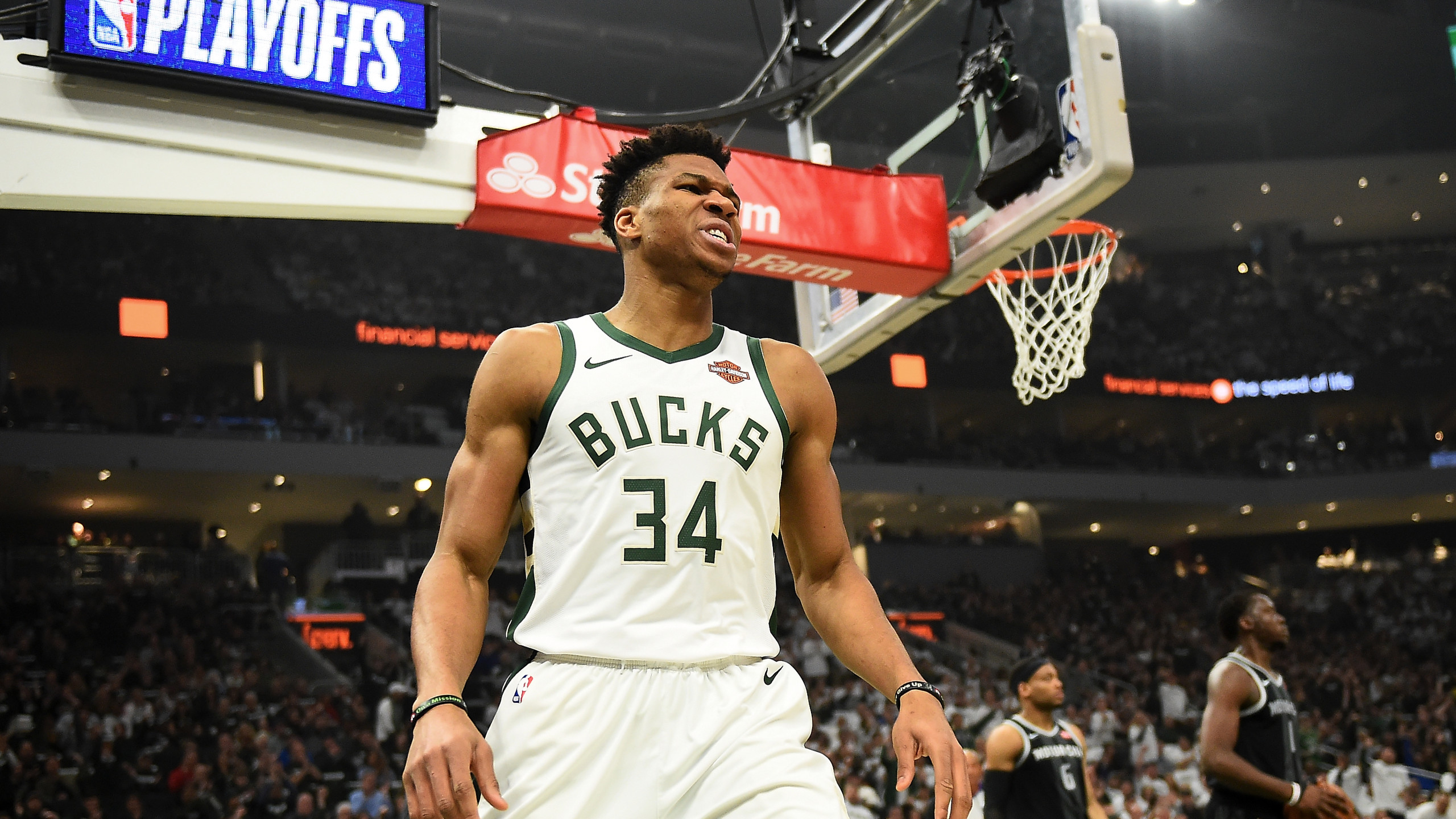 Giannis Antetokounmpo wins MVP amongst three Milwaukee Bucks NBA 2560x1440