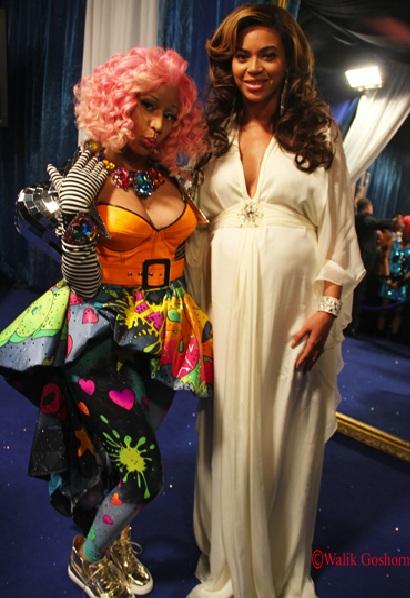 Beyonce-and-Nicki-Minaj