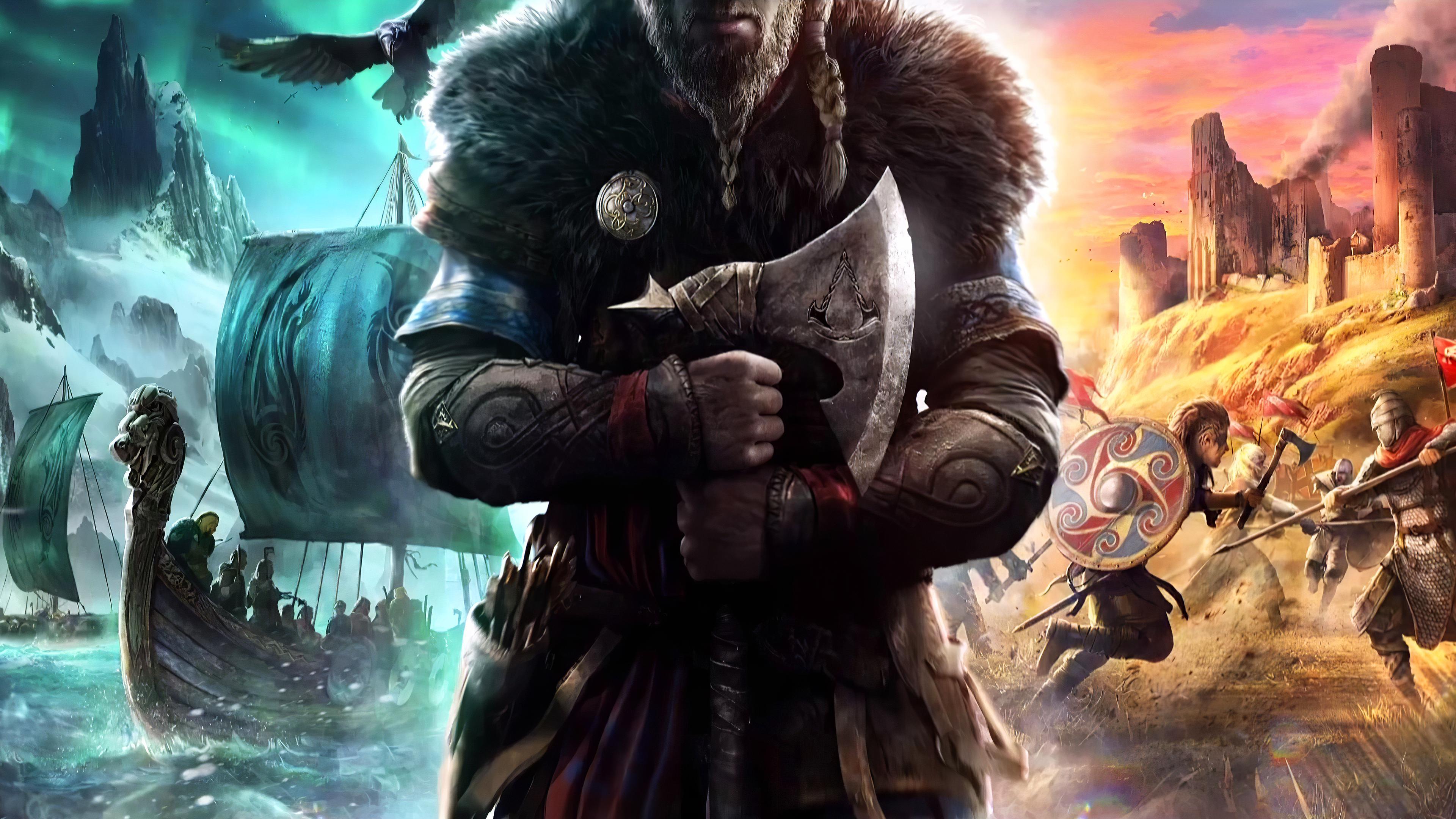 Assassins Creed Valhalla 4k Wallpaper assassinscreed 3840x2160