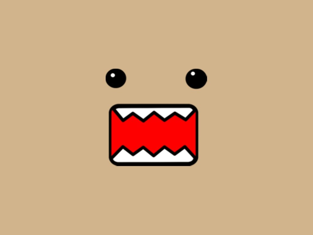 Cute Domo Wallpaper by Dyan21 1024x768