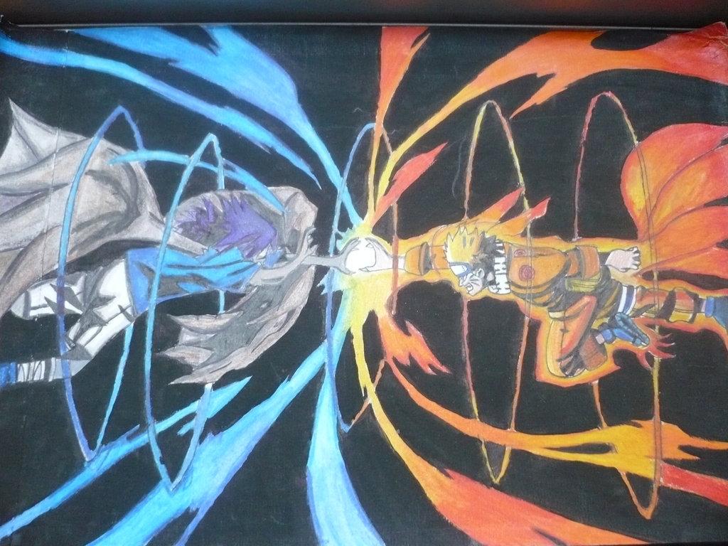 75 Naruto Vs Sasuke Wallpaper On Wallpapersafari