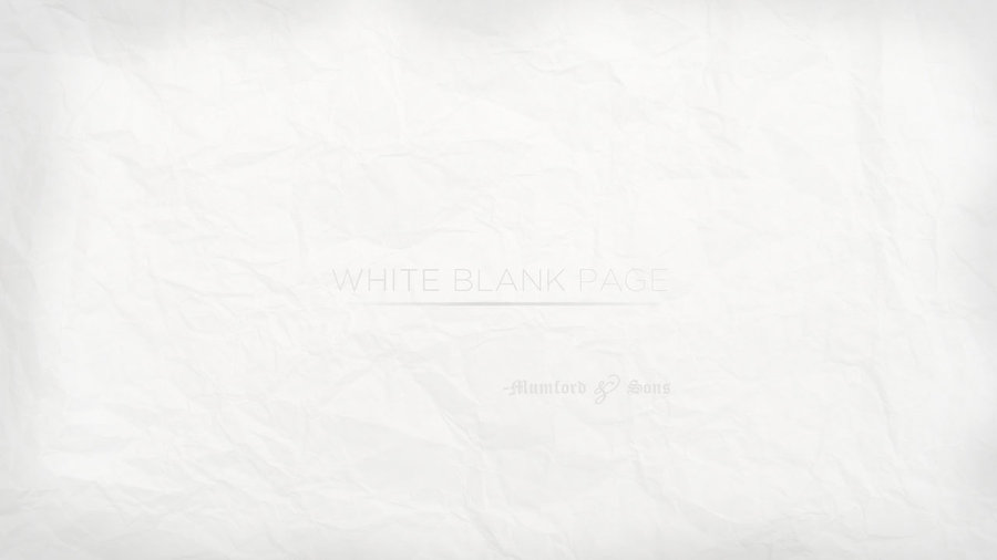 Blank White Wallpaper White blank page by 900x506