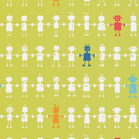 Robot Wallpaper Kids Reggie robot wallpaper from 550x550